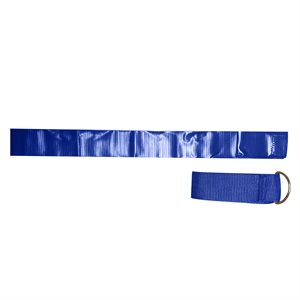 12 blue nylon football flag belts