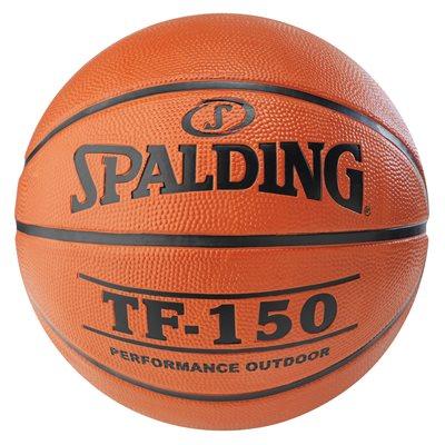Spalding rubber basketball