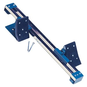 Steel and PVC starting block