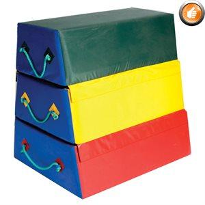 3-section foam vaulting box