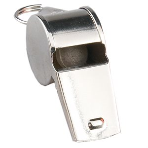 Metallic whistle, medium tone