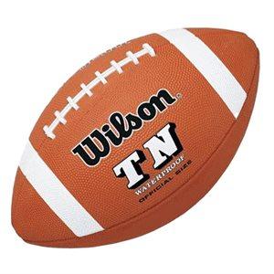 Wilson official TN rubber football