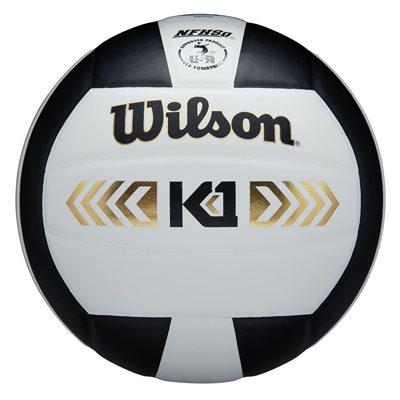 Wilson K1 volleyball, white / black