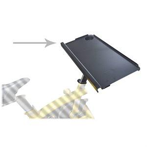 Work desk for stationary bike
