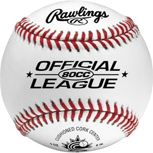 12 Rawlings leather baseballs